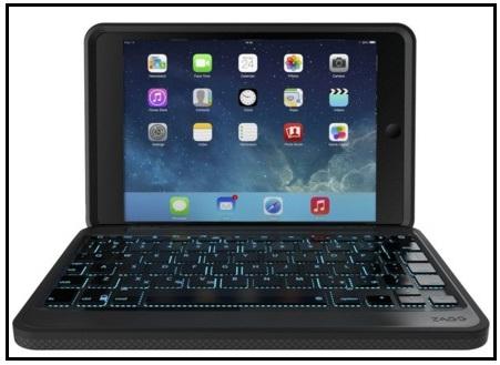 iPad Mini 4 Keyboard Zagg case