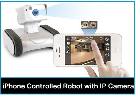 best iPhone Controlled Robot with IP Camera in USA, Uk 2015-2016