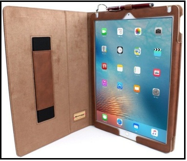 huge discount 84353 481e1 Best 12.9 iPad Pro leather Cases with Pencil holder in 2019: Perfect ...