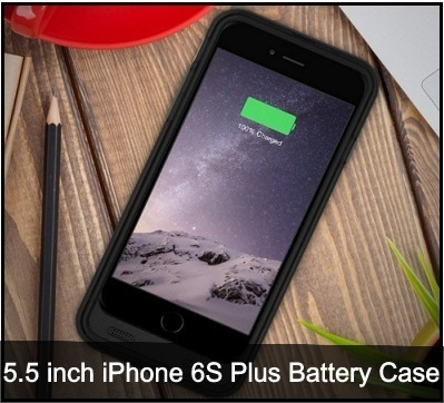 iPhone 6S Plus battery cases