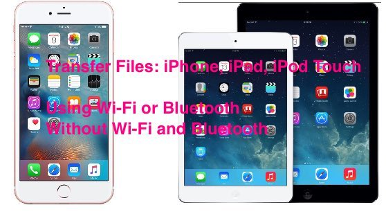 Share files between iPhone and iPad forcefully