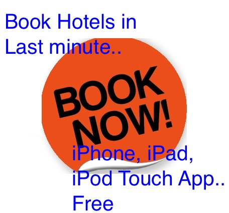 Best last minute hotel booking iPhone, iPad and iPod Touch