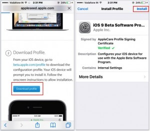 Download and Install iOS 9.3 on iPhone, iPad: No developer account