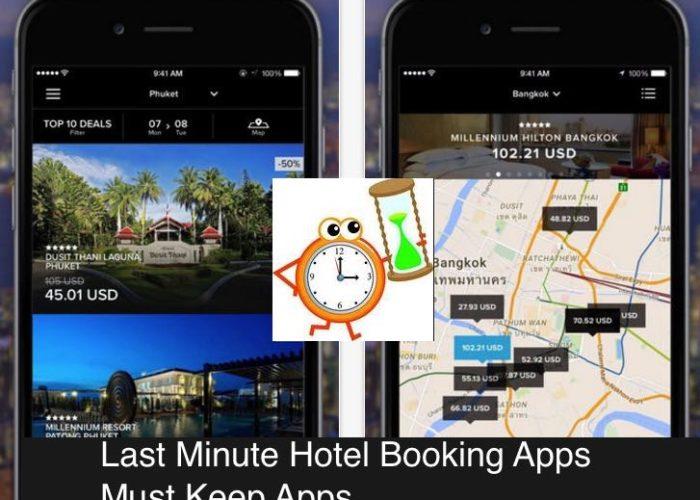 last minute hotel booking iOS app