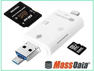 iPhone SD card viewer by Massdata