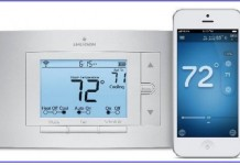 iPhone controlled thermostat from sensi
