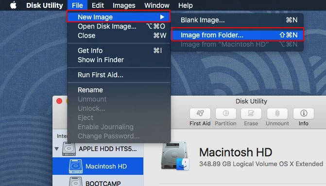 set Folder password on Mac OS X EI Capitan, Yosemite