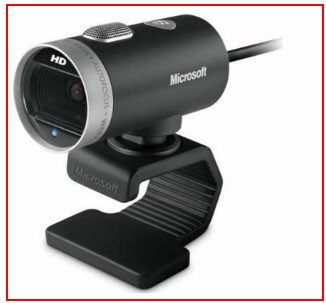 Microsoft multipurpose supported USB iSight camera