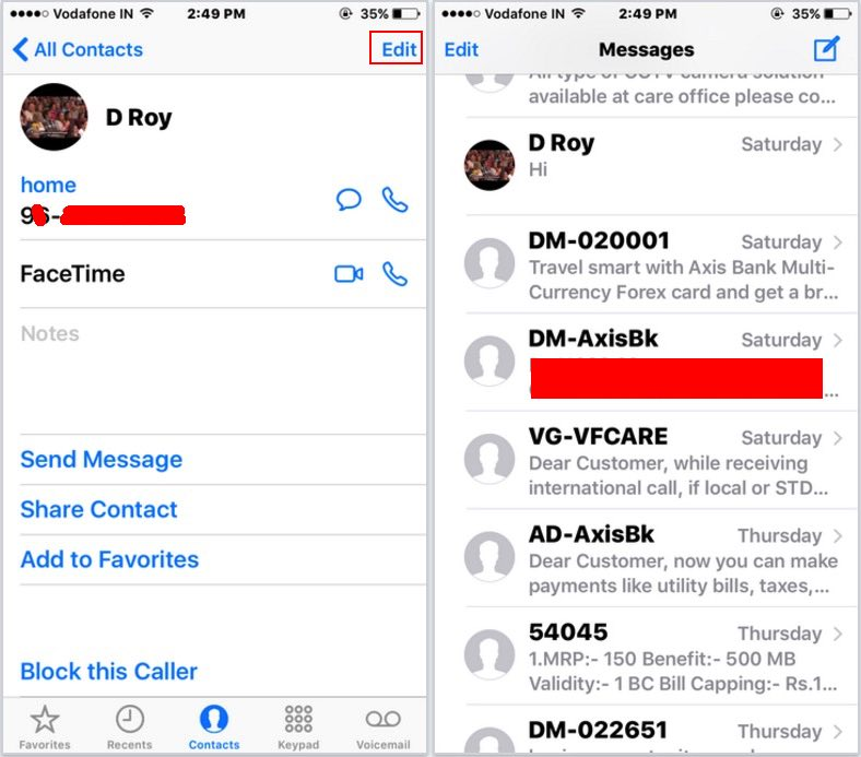 Iphone App To Change Phone Number