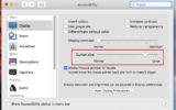 change cursor size on Mac OS X EI Capitan, Yosemite