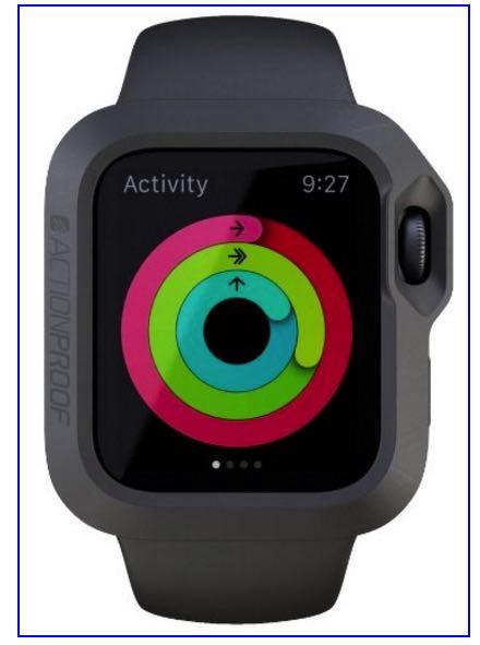 Actionproof apple watch bumper case