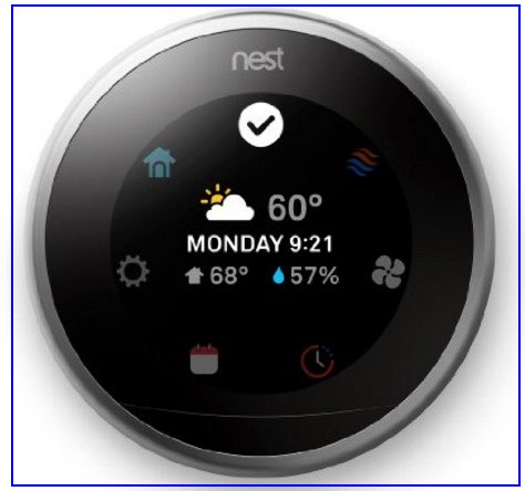 Full features thermostate controll remotely in top Best iPhone controlled thermostat