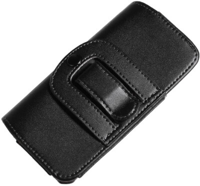 Apple iPhone SE leatherCase Holster with Rotating Belt Clip