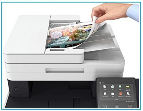Canon Wireless Multifunction Laser Printer for Macs