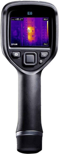FLIR E8 Thermal Camera with Wi-Fi & MSX