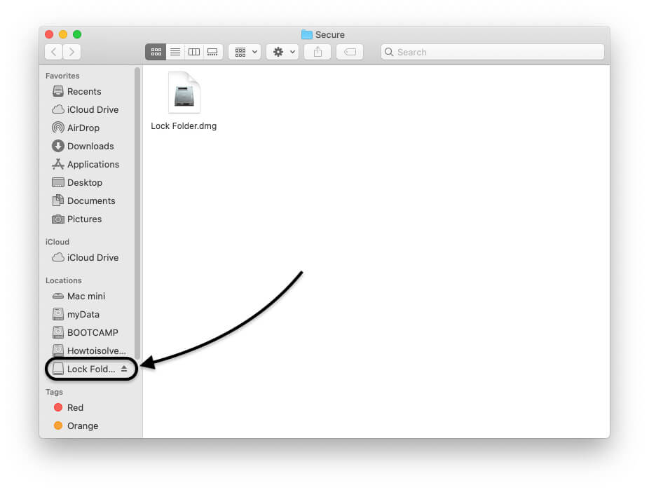 Password Protected Folder is unlocked