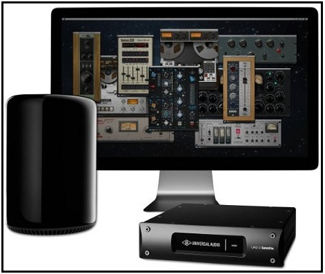 UAD-2 Satellite Thunderbolt for MacBook Pro