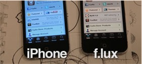 Use Night shift mode on iPhone 5, 4S,4