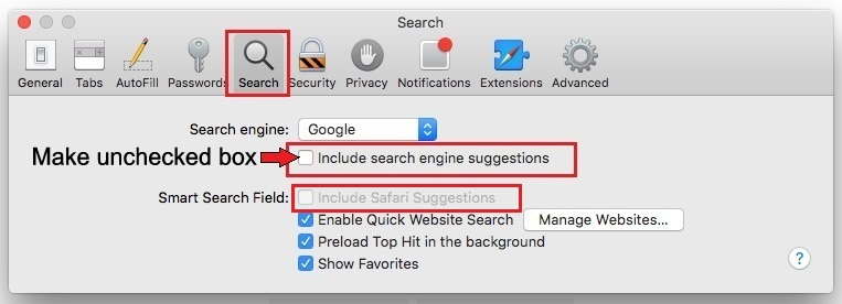 Fix Safari crashing on Mac OS X Yosemite 10.10