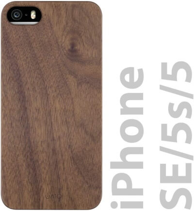 iATO Wood Slim iPhone SE Case