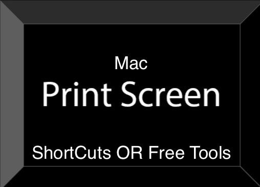 Print screen Mac OS X EI Capitan