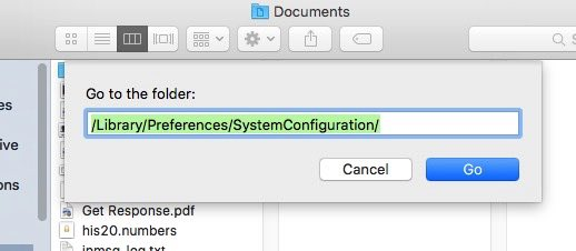 Move to Preference file on Mac