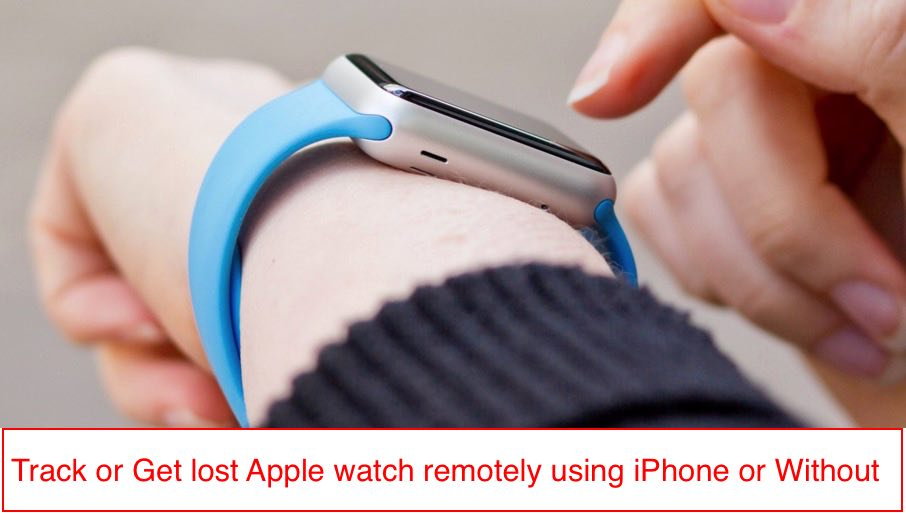 1 find lost apple watch in easy way