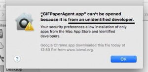 Open apps from an unauthorized developer on Mac OS X [Solved]