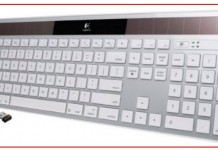 Solar Bluetooth Keyboard for Mac