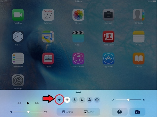 check out Airplane mode off on iPad Pro control center if pencil not working