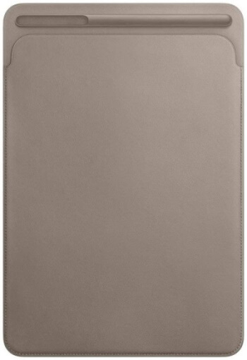Apple Leather Sleeve for 10.5in iPad Pro - Taupe (Renewed)