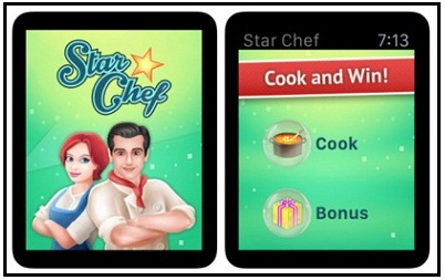 Star Chef apple watchOS 2 game free