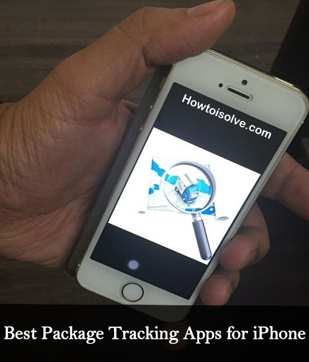 Package Tracking apps for iPhone, Apple Watch