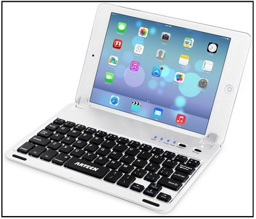 Arteck iPad mini folio case with keyboard