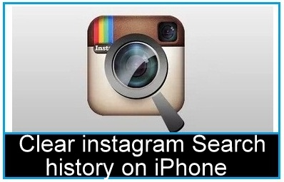 instagram search history on iOS 9 iPad