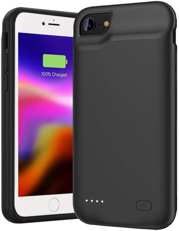 GDPower Portable Battery Case iPhone SE 2020