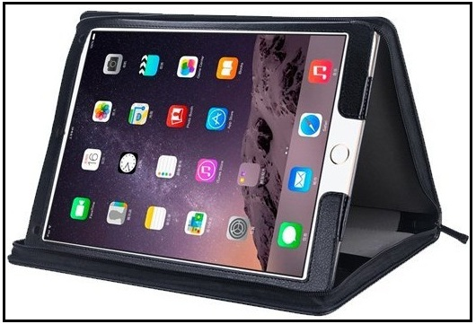 Zipper leather case for iPad Pro