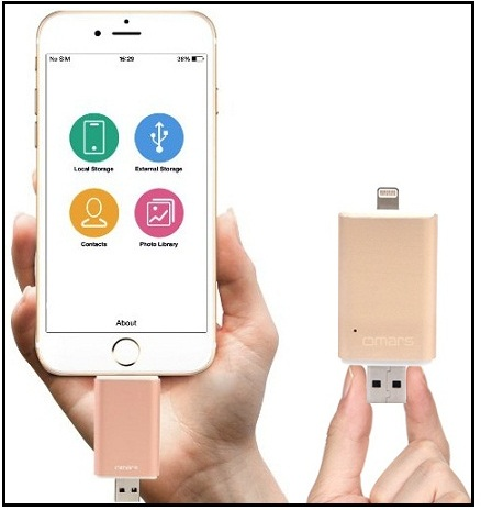 top Flash Drive for iPhone, iPad external storage