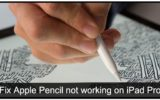 How to fix Apple Pencil not working on iPad Pro iOS 9