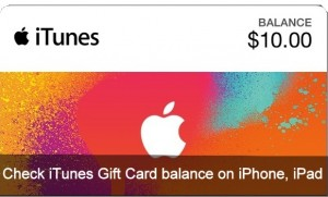 How to check iTunes Gift Card balance on iPhone, iPad