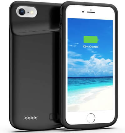 Swaller 4500mAh Battery Case for iPhone SE 2