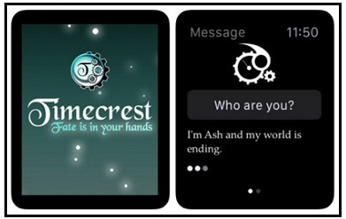 Timecrest game for apple watch
