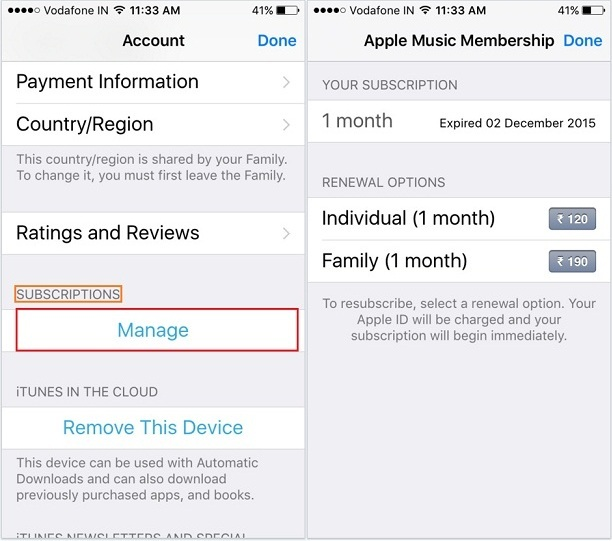 Turn off auto renewal iphone 6 14