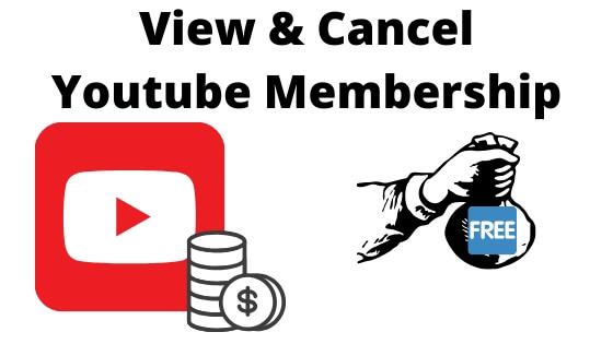 View & Cancel Youtube Membership from iPhone