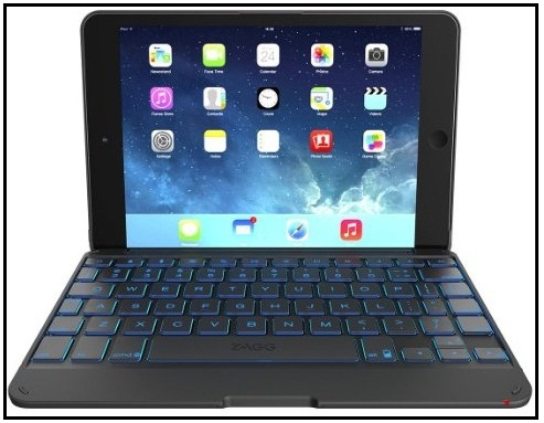 Best iPad Mini Case with keyboard 2016 Zagg