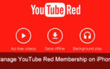 YouTube Red Membership on iPhone, iPad