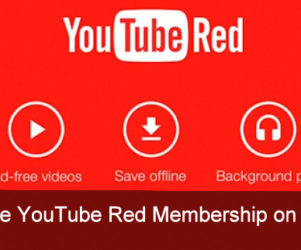 YouTube Red Membership on iPhone, iPad