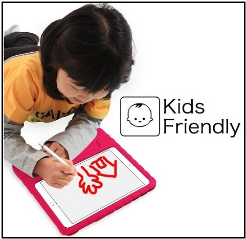 Heavy duty case for iPad pro kids