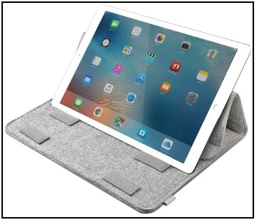 iPad Pro Sleeve with pocket and with pencil holder