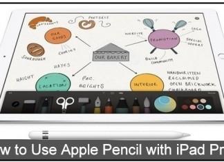 way to un-pair, Pair Apple Pencil with iPad Pro